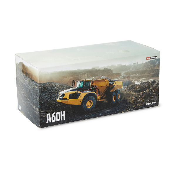 Maquette Tombereau Volvo A60H 1:50