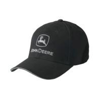 Casquette noire John Deere