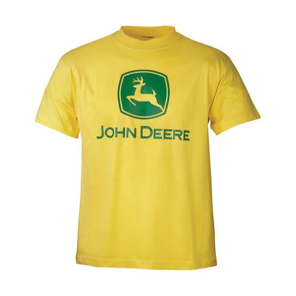 T-shirt jaune John Deere
