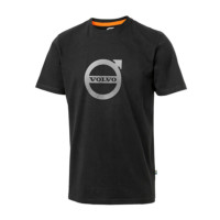 T-shirt corporate noir Volvo