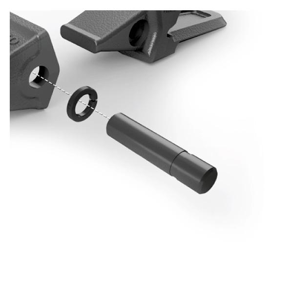 Système de clavetage pour dent Volvo