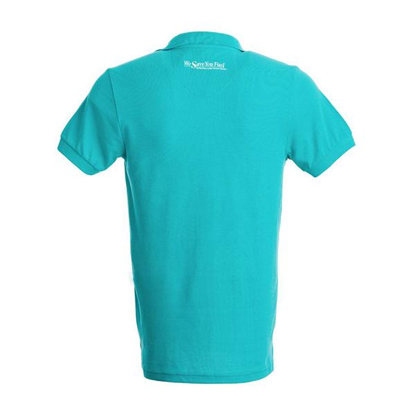 """Polo corporate """"True Blue"""" Kobelco"""