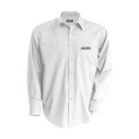 Chemise blanche manches longues brodée Loc Btp