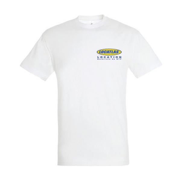 T-shirt Logo Locatlas face