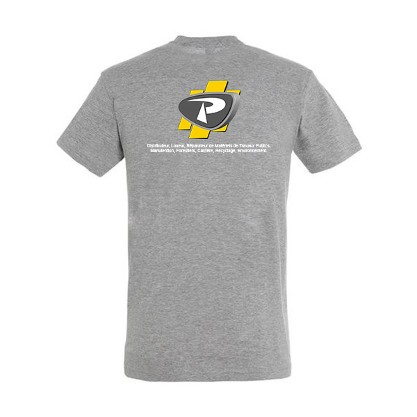 T-shirt Logo Payant dos