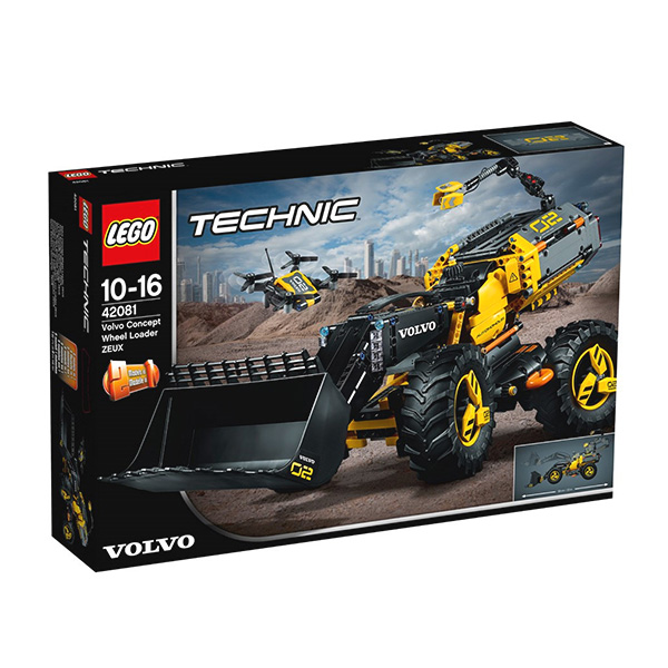 Volvo Zeux by Lego Technique
