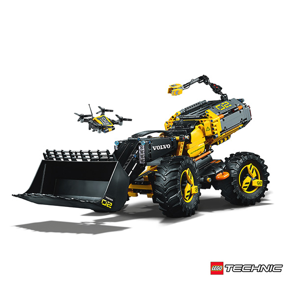 Volvo Zeux by Lego Technique