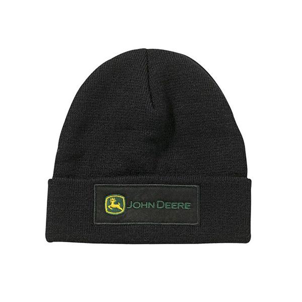 Bonnet noir John Deere