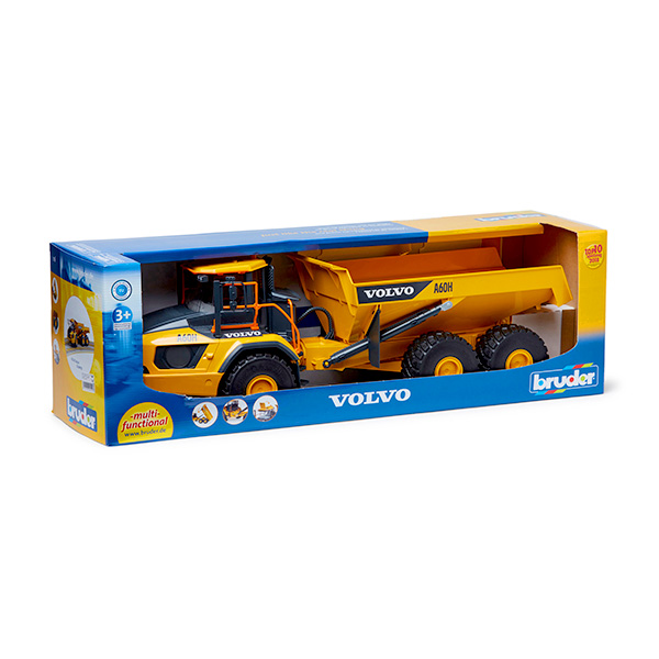 Maquette jouet Tombereau Volvo A60H