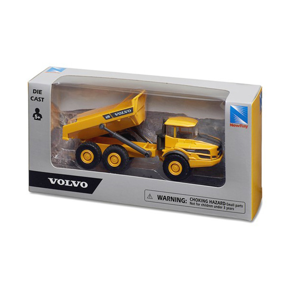Maquette jouet Volvo Tombereau A25G