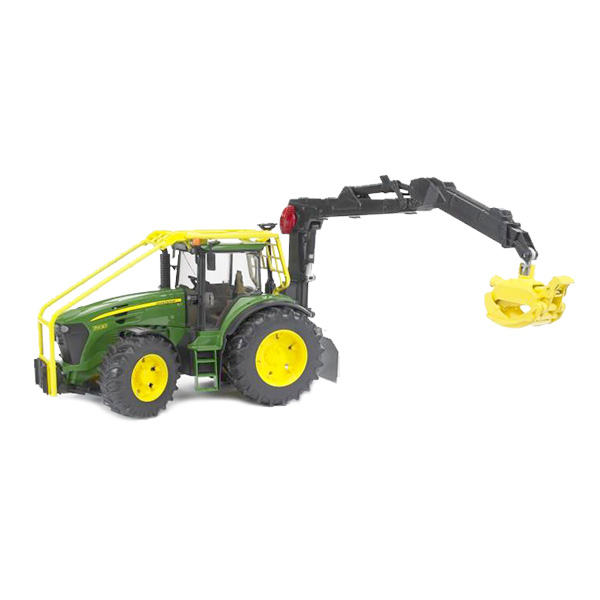 Maquette Tracteur forestier John Deere 1:32