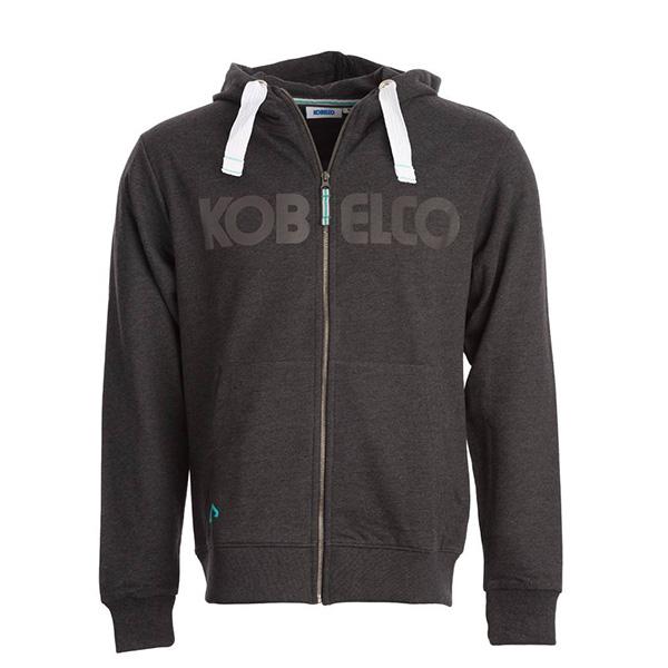 Sweat zip à capuche Kobelco