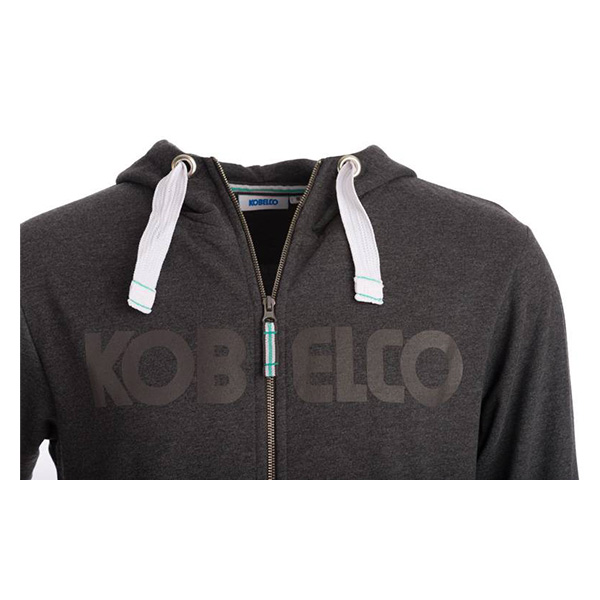 Sweat zip à capuche Kobelco