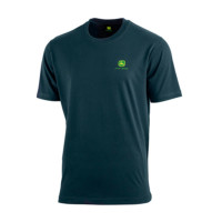 T-shirt Logo John Deere bleu foncé