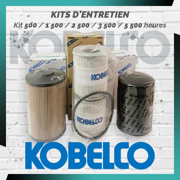 Kits d'entretien intermédiaire 500 à 5500 heures Kobelco