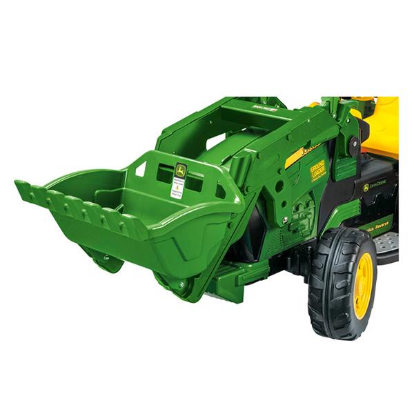 tracteur electrique avec godet