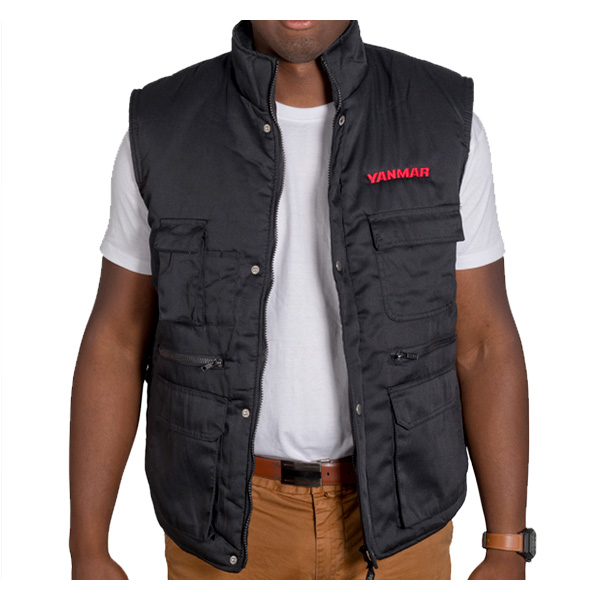 Body Warmer sans manches Yanmar