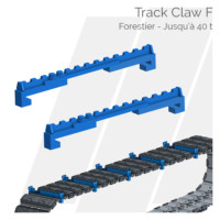 Crampons pour tuiles Track Claw F Hettec