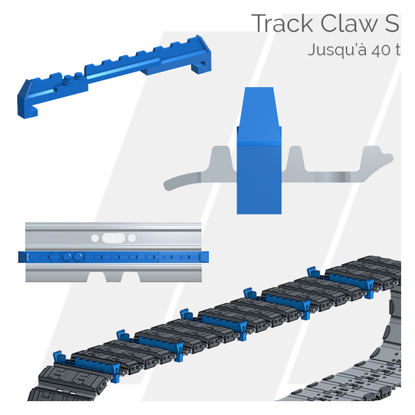 Crampons pour tuiles Track Claw S Hettec
