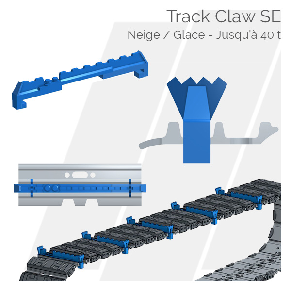 Crampons pour tuiles Track Claw SE Hettec