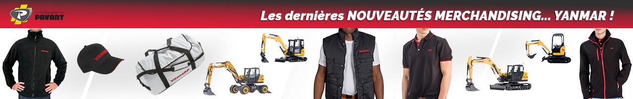 Nouveautés Merchandising Yanmar - Groupe PAYANT