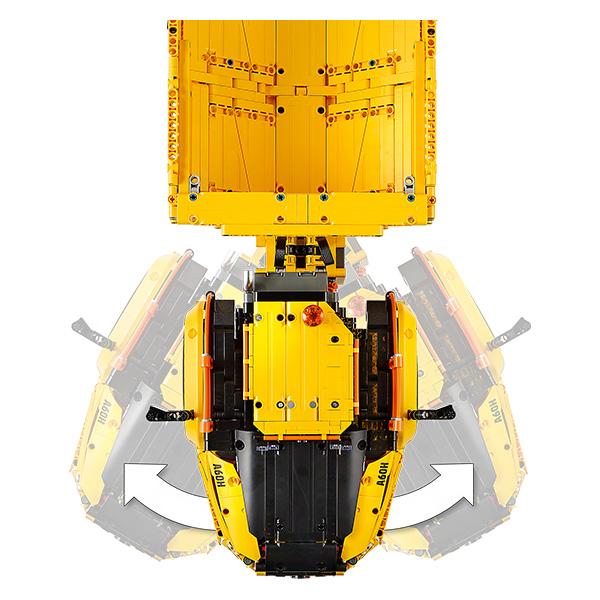 Maquette A60H Volvo by Lego Technic