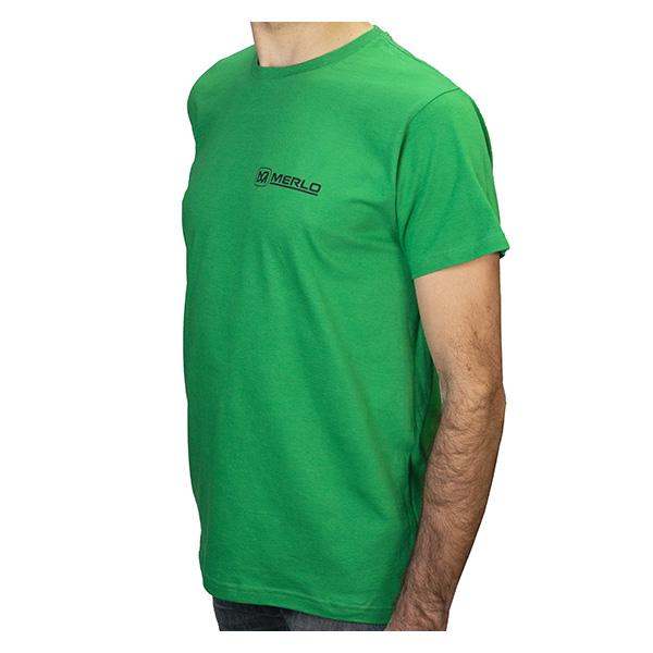 T-shirt vert Merlo