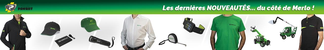 Nouveautés merchandising Merlo - Groupe PAYANT