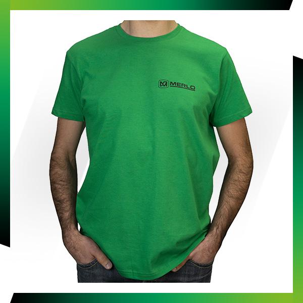 Nouveau : T-shirt vert Merlo