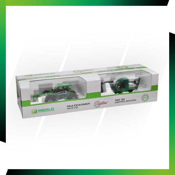 Nouveau : Coffret 2 maquettes MF40.9 et SM30 Merlo