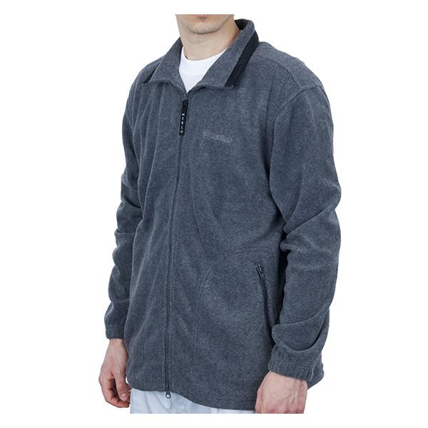 Polaire grise zippée Merlo