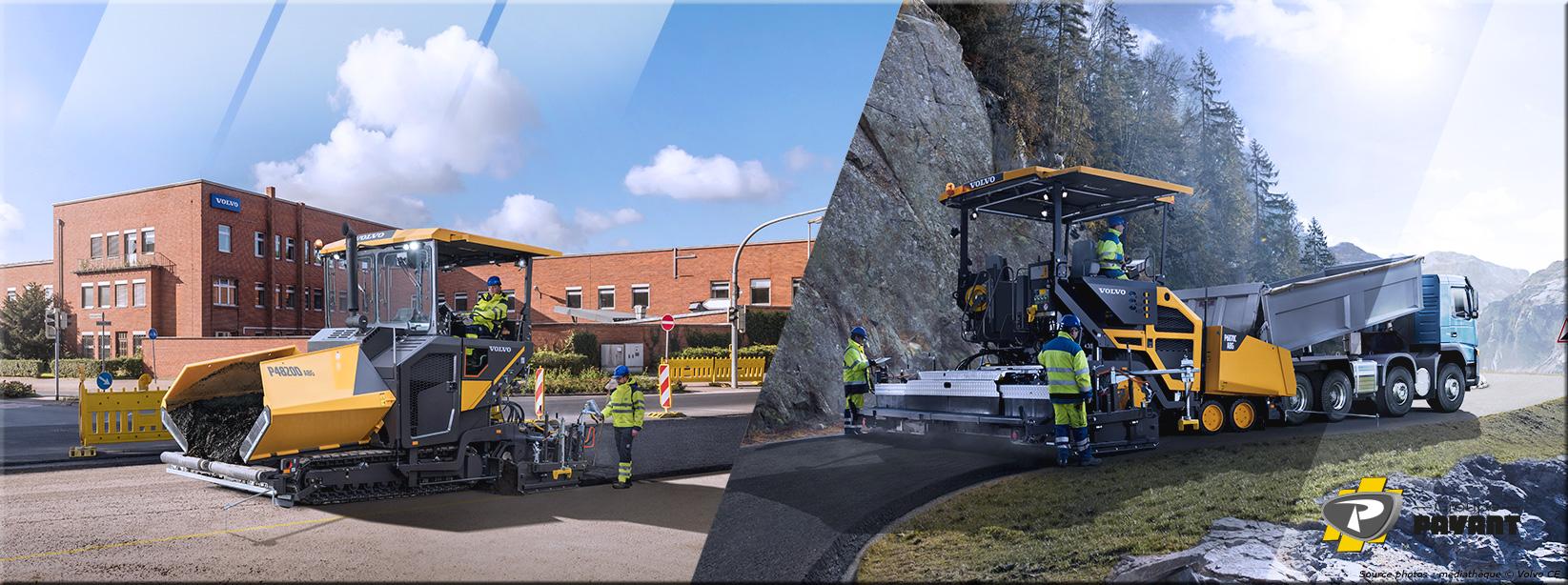 Images Finisseurs de Route Volvo - Groupe Payant