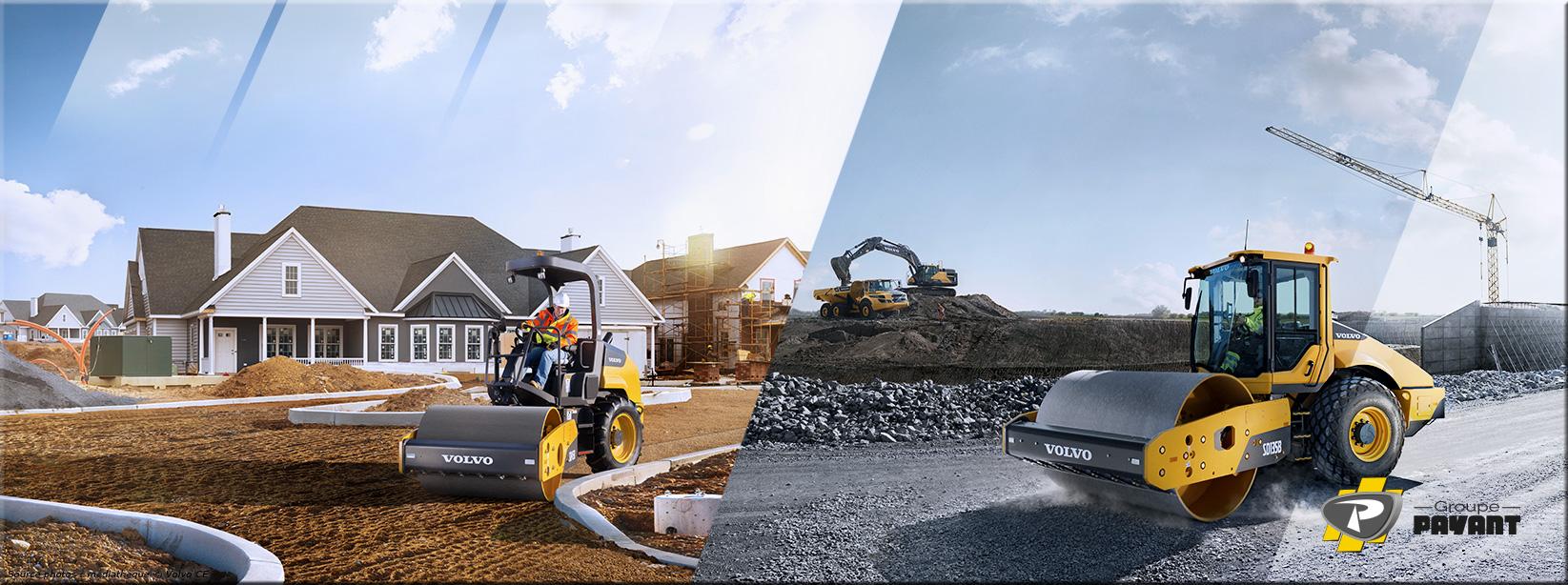 Images Compacteurs de Terrassement Volvo - Groupe Payant