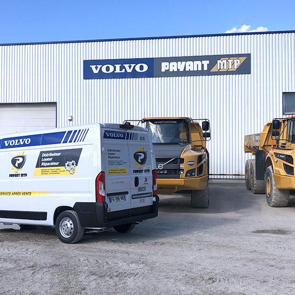 Des services adaptés avec Payant MTP et Volvo