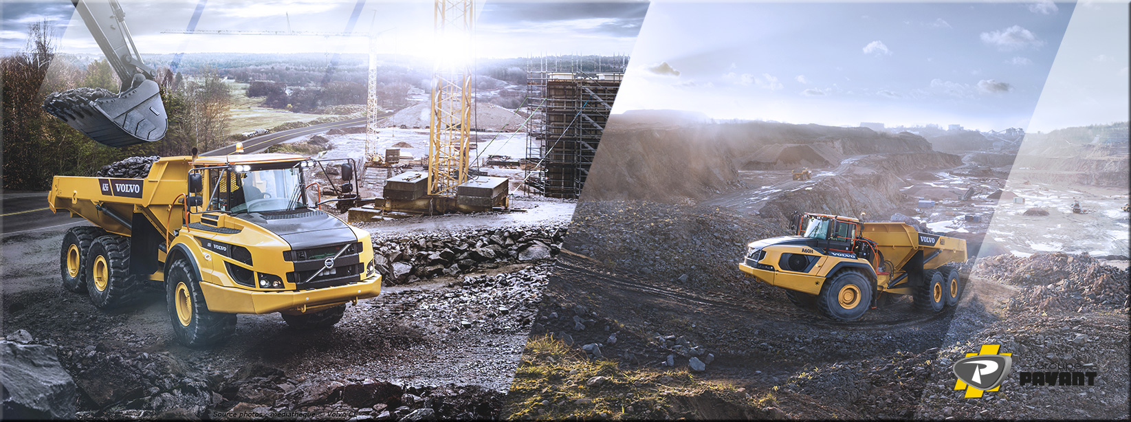 Images Tombereaux Articulés Volvo - Groupe Payant