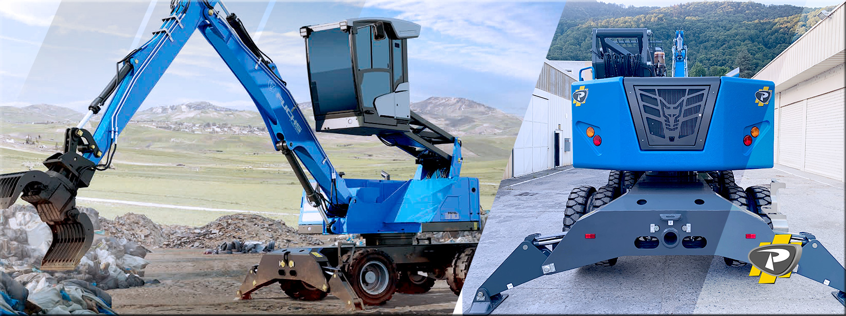 Images Pelle Recyclage Terex FUCHS MHL310 - Groupe Payant