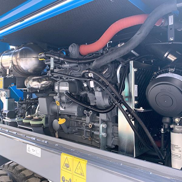MHL310 - Vue du moteur