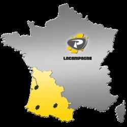 Carte du territoire de la société LACAMPAGNE