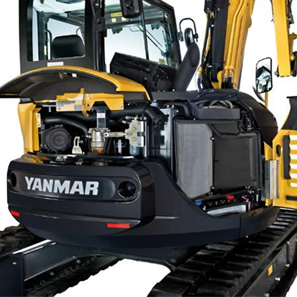 Midi Pelle Yanmar ViO80-2PB - Maintenance facile et rapide