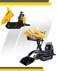 Gamme des Carriers Yanmar