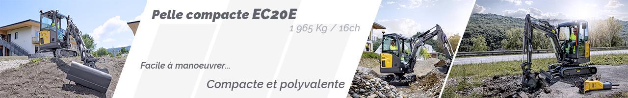 Pelle compacte Volvo EC20E