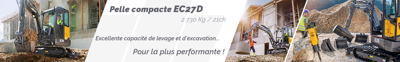 Pelle compacte Volvo EC27D