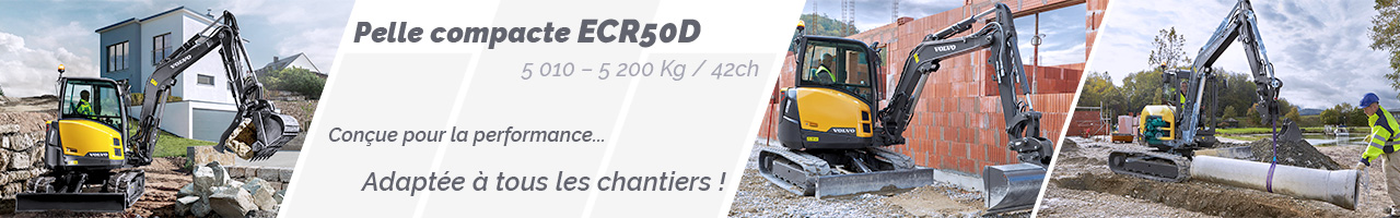 Pelle compacte Volvo ECR50D