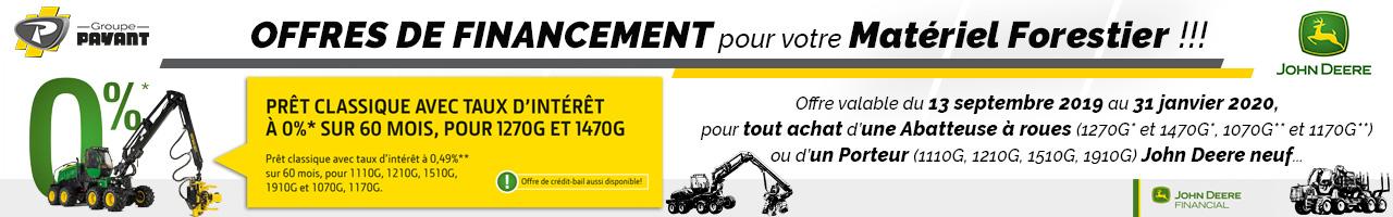 Offres de financement John Deere - Groupe Payant