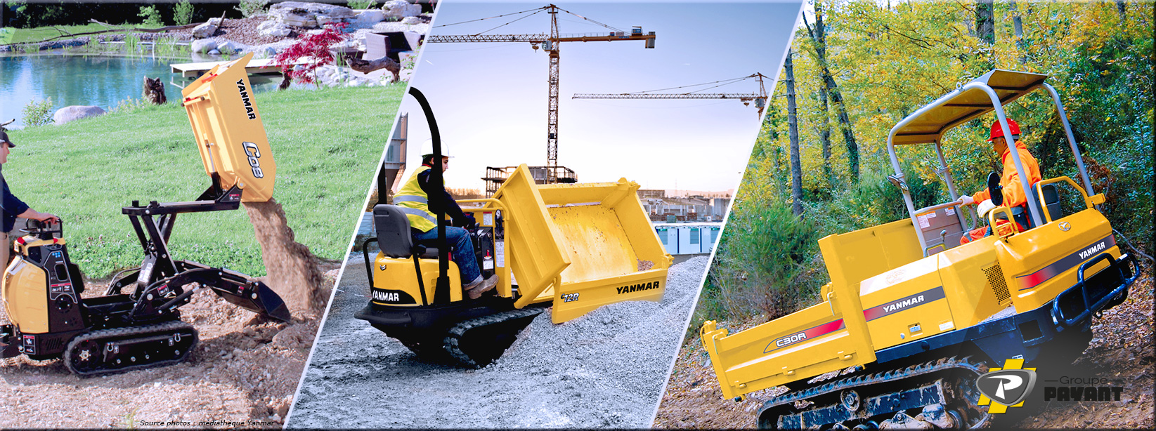 Images Gamme des Carriers YANMAR