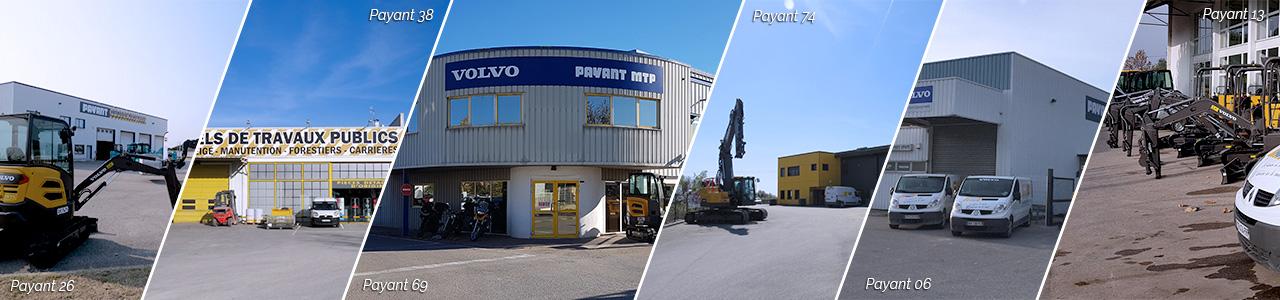 Photos des agences de la société Payant MTP