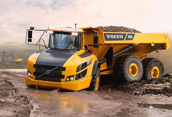 Volvo - Tombereau articulé A45G