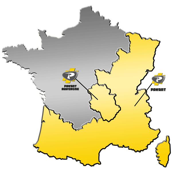 Zone de distribution de matériels Forestiers du Groupe PAYANT