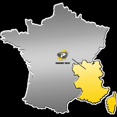 Zone de distribution de matériels VOLVO CE - Payant MTP