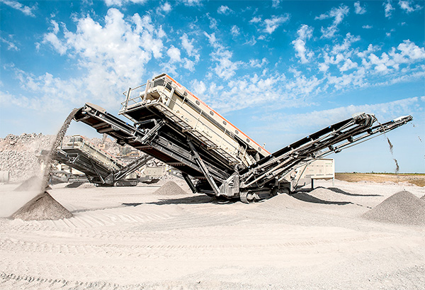Metso - Crible mobile Lokotrack-ST4.8